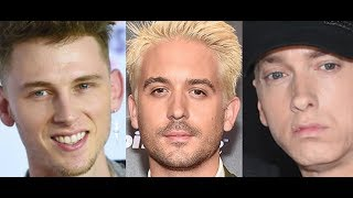 MGK CLAIMS He is Bigger than G Eazy But Doesnt Appear True Especially Now After Eminem Destroyed....