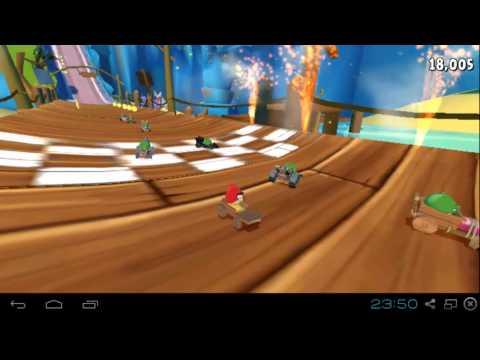 เล่นเกมส์ Angry Birds Go! เกมส์แอนดรอย์ แข่งรถ