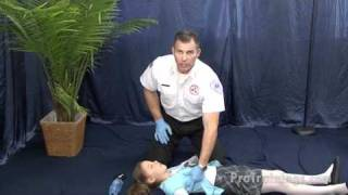 Unconscious Child Choking - Lay Rescuer