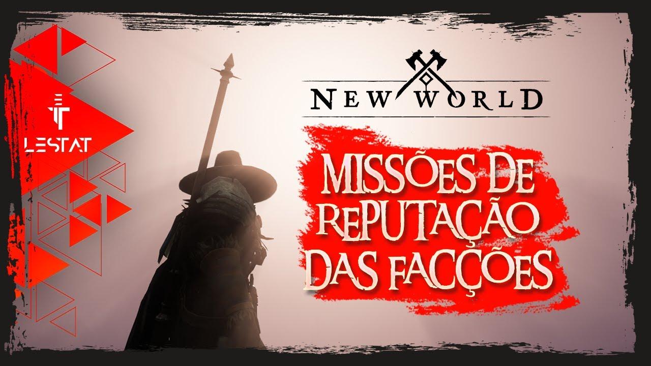 New World MMO | Missões de Reputação para as Facções - Closed Beta
