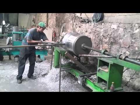 Asi se fabrica una vaporera de 120 lts en mexico