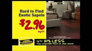 Lumber Liquidators Tv Commercial 'hardwood Flooring Sale'