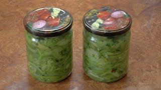 Зелёные помидоры по-корейски / Korean green tomatoes