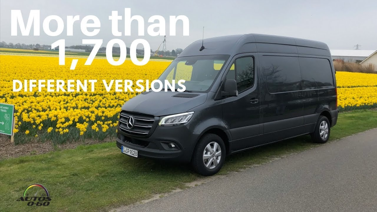 2019 Mercedes Sprinter Van >> Mercedes-Benz Sprinter 2019 1st. drive from Amsterdam to Rotterdam in the Netherlands - YouTube