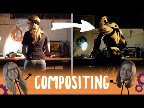 Using MoCap to Composite a Robot | Compositing Class