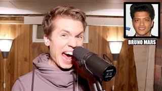 Pria Ini Mampu Tirukan Suara Penyanyi Top Dunia