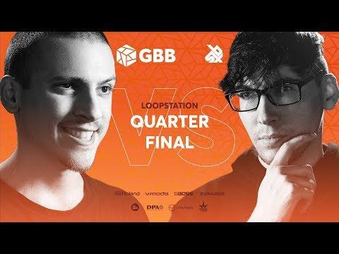 NME Vs BREZ | Grand Beatbox Battle 2019 | LOOPSTATION 1/4 Final