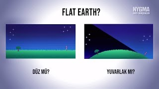 Dünya düz mü? Tüm kanıtlarıyla gerçekler! DÜZ DÜNYA TEORİSİ
