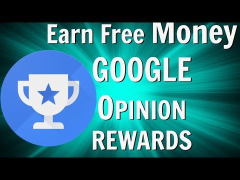 Install Google Opinion Rewards and Earn Free Money
