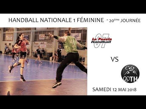 2018 05 12 Rencontres Sportives   Championnat N1F 20ème journée   LE POUZIN vs ACHENHEIM