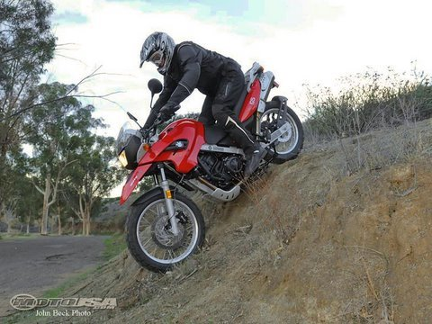 2009 bmw g650gs dual sport motorcycle review - youtube