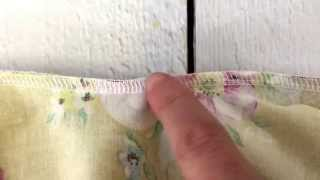 Serger 101: How to Seam Rip a Serged Seam