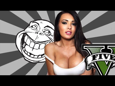 Funniest Girl Gamer Gets Trolled In GTA 5 Online! (MOD MENU TROLLING)