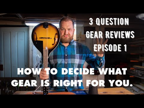 3 Question Gear Reviews: I bought the cheapest Mandolin on Amazon