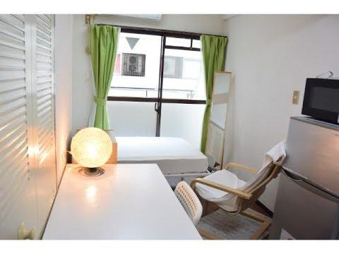 Japanese Apartment Tour in Osaka EHK504 - Namba Nipponbashi /furnished