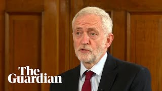 Jeremy Corbyn calls for general election following May resignation