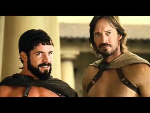 Meet the spartans kiss