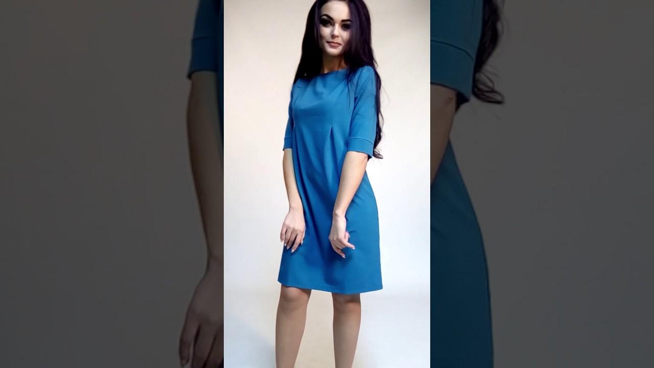 Чернично-сливовая туника блуза - YouTube