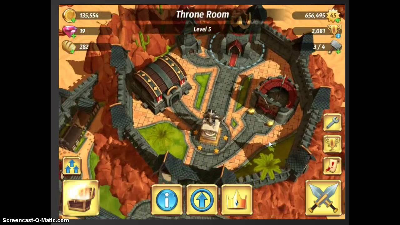 Royal Revolt  Throne Room