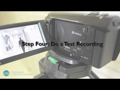 How to Record an Audition Video