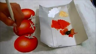 COMO PINTAR TOMATES – HOW TO PAINT TOMATO – parte 2 de 3