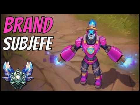 ► BRAND SUBJEFE (Brand Jefe de Batalla) vs MALZAHAR - Nueva Skin [GUIA S7 ESPAÑOL]-League of Legends