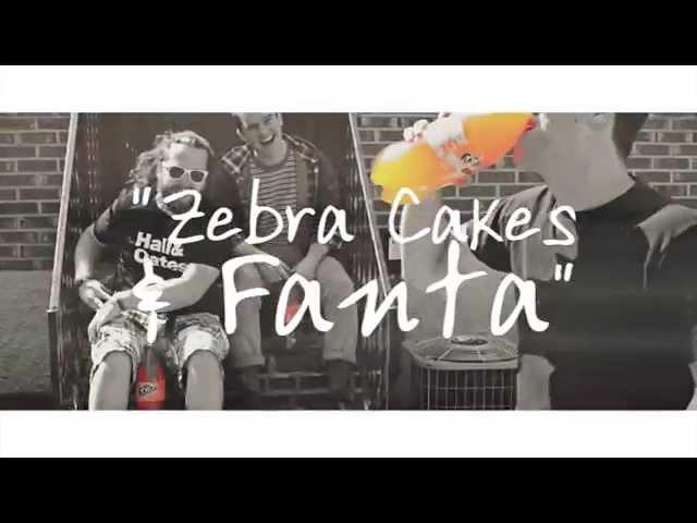 Zebra Cakes and Fanta