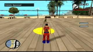 GTA SA Goku Johnson