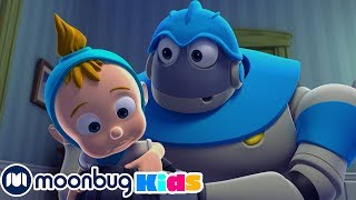 Arpo The Robot - RUN FOR YOUR LIFE! | Moonbug Kids TV Shows - Full Episodes | Cartoons For Kids