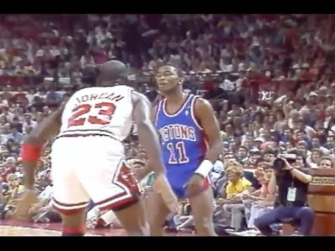 Michael Jordan Defense on Isiah Thomas  - 1989 ECF Game 4