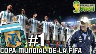 FIFA 2014 World Cup: La Copa Mundial con Argentina #1