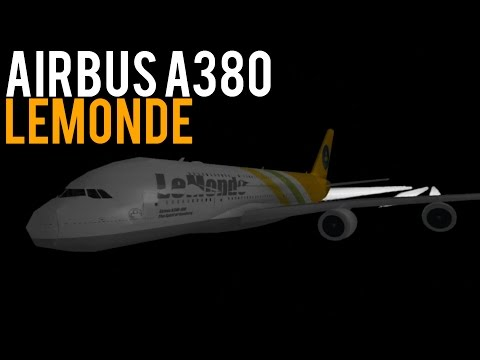 Flight | LeMonde A380 (First Class)