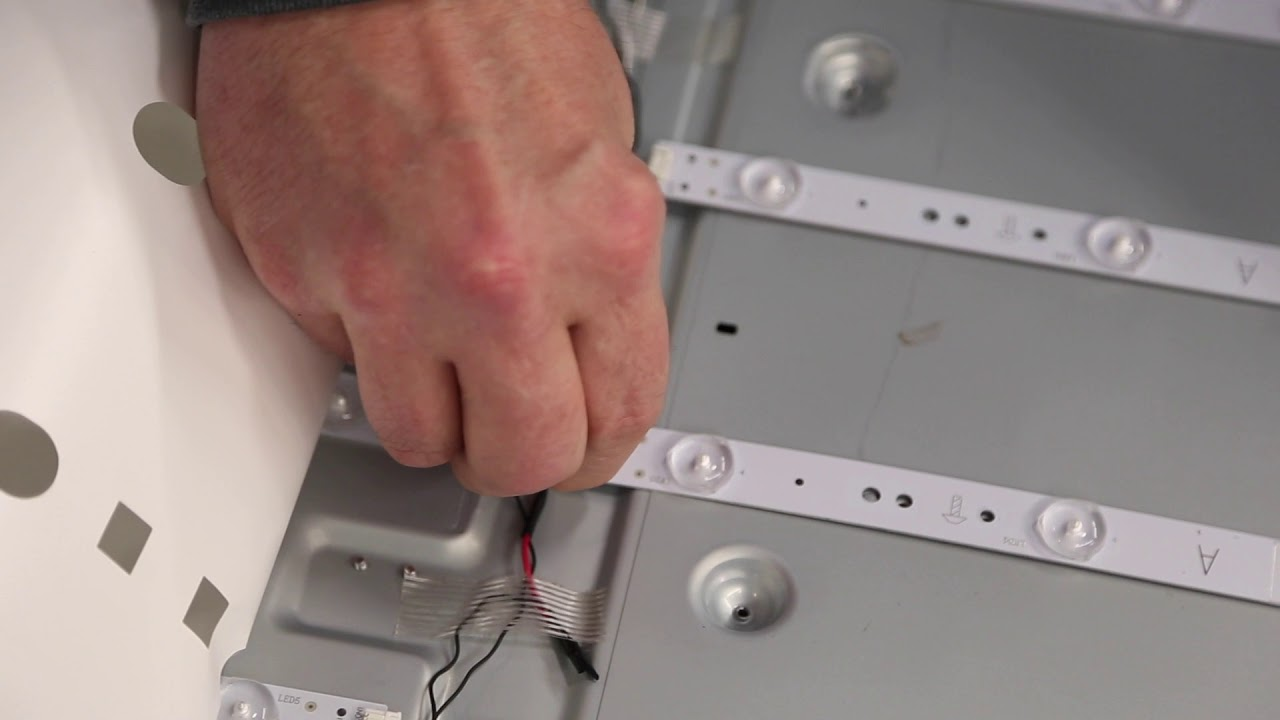 LG 65` TV LED Strip Replacement Tutorial for LG Model 65UH5500-UA