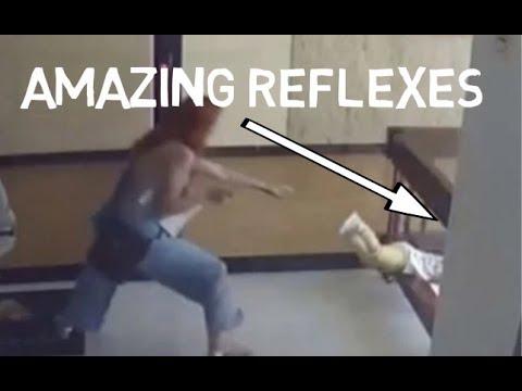 Mark Wallengren - Video of Mom's Incredible Life Saving Reflexes