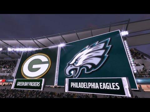 Madden NFL 17 Philadelphia Eagles Frachise Week 12 - vs Green Bay Packers