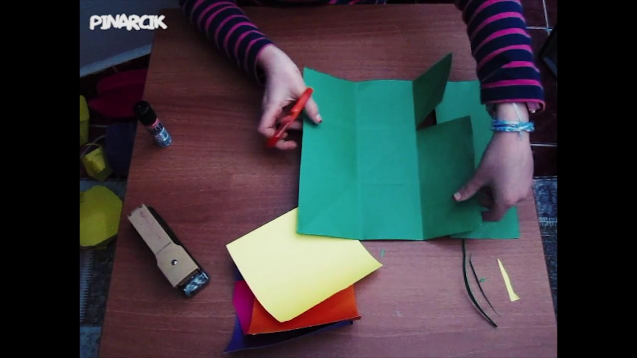 Kartondan Sepet Yapımı çok Basit Youtube