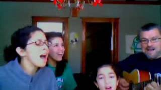 I will follow you- Chris Tomlin ( Cover with the Familia)
