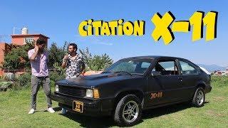 Citation X-11 ( Es una delicia escuchar su motor )