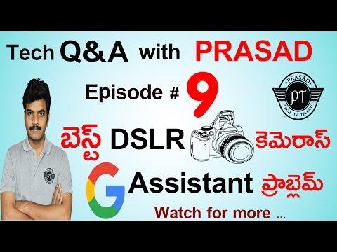 Tech Q&A with prasad episode#9 ll in telugu ll by prasad ll