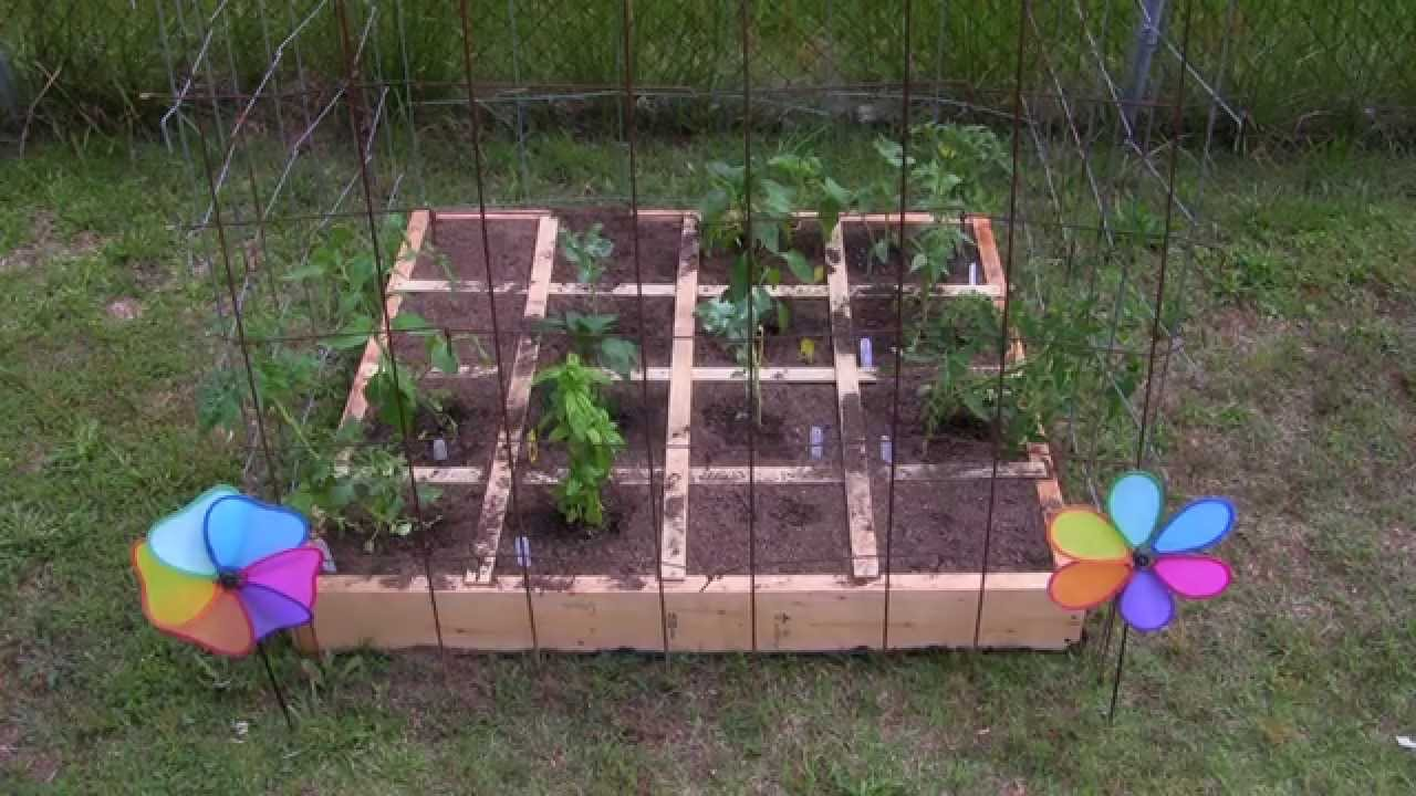how to build a raised garden box video