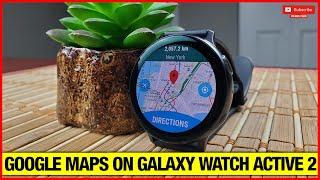 Best Navigation/Map app on Samsung galaxy watch 3 & active 2! screenshot 4
