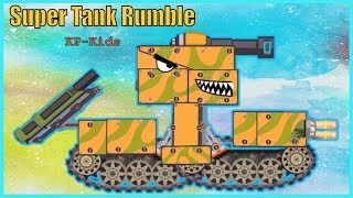 Tank game - Manufacture of tank boys KP-6 | Super tank rumble | You tank fun | Tanks