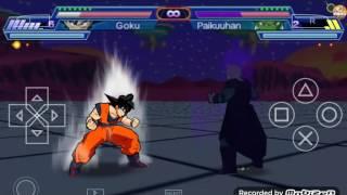 Dragon Ball Shin budokai 2 | Mod |Goku Super Saiyen Blue kaioken x10 vs hit