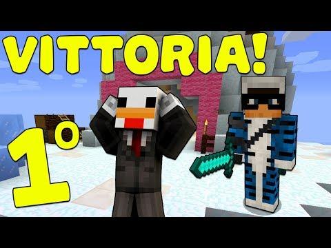 LA MIA PRIMA VITTORIA NELLE BEDWARS!! - Minecraft ITA