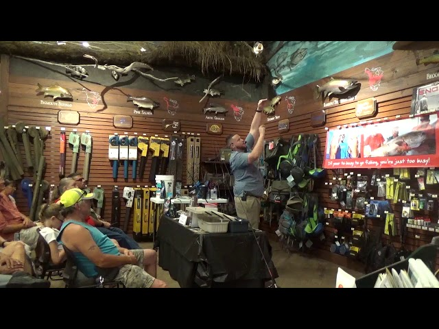 Bass Pro Shops Seminar 3/16/19 | https://www.HubbardsMarina.com