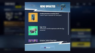 THE FOOTAGE WAS REAL - VENDING MACHINES ARE COMING SOON! (Fortnite Battle Royale)