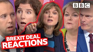 New Brexit Deal: Should I be jumping for joy or crying? | Question Time - BBC | Question Time - BBC