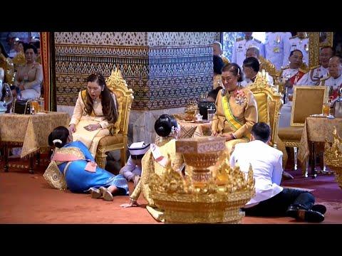 พระราชพิธีเฉลิมพระปรมาภิไธย พระนามาภิไธย และสถาปนาพระฐานันดรศักดิ์    The Royal Coronation Ceremony