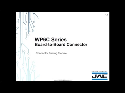 JAE Fine-pitch Board-to-Board Connector for Handheld Devices