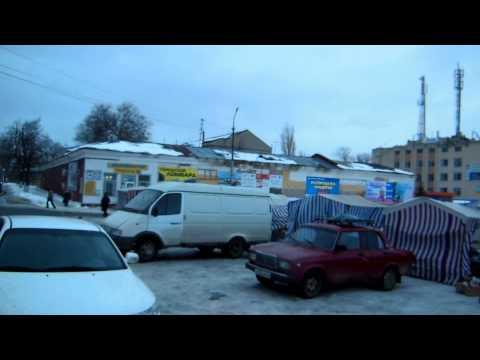 Аткарск видео с площади в рыночный день
